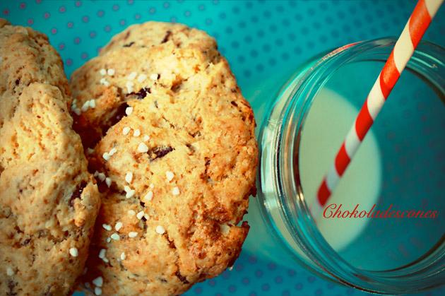 Chokoladescones med mælk