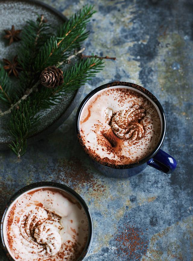 julekakao med vaniljeskum