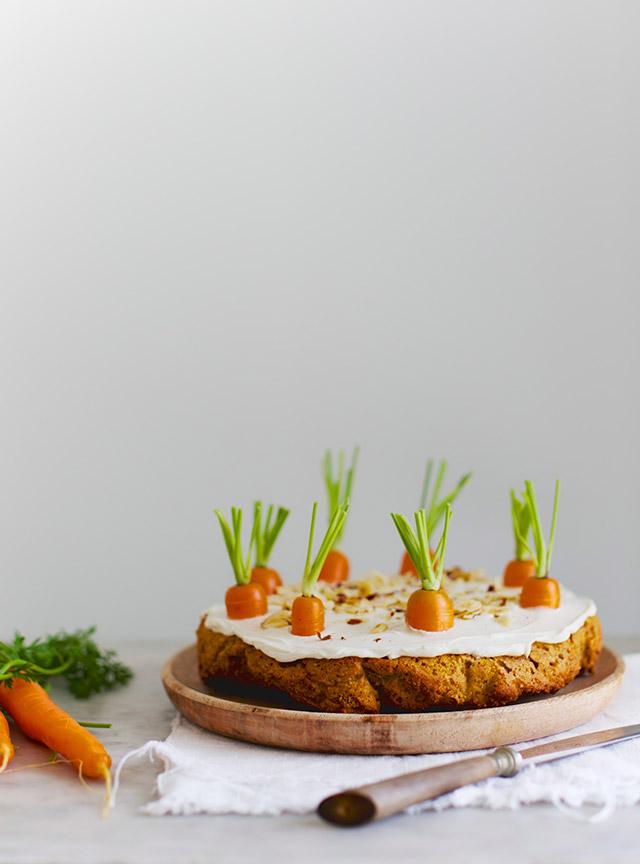 gulerodskage fra sunde søde sager