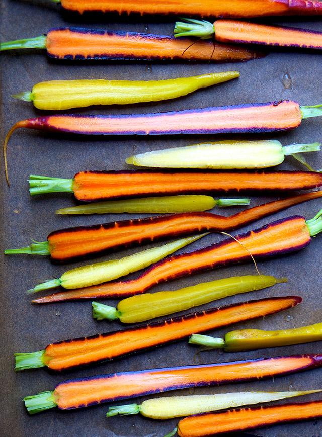 sommersalat & gulerødder